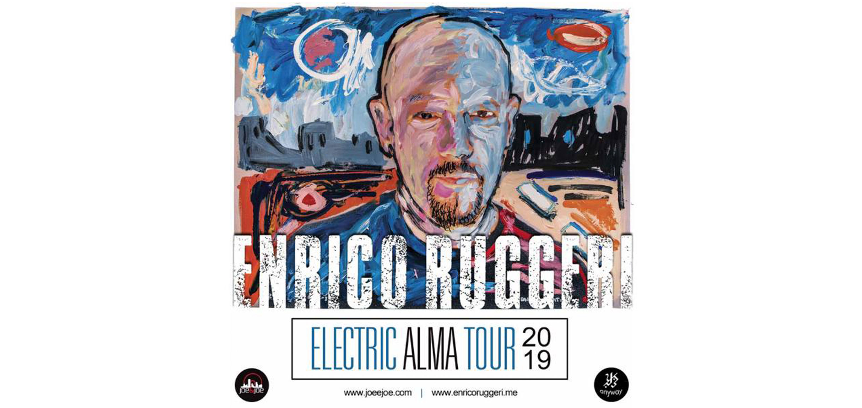 Enrico Ruggeri Electric ALMA Tour 2019 - Lecce
